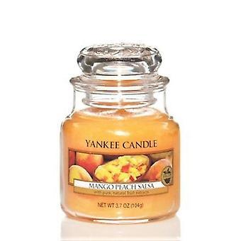 Yankee kynttilän klassinen pieni jar Mango persikka Salsa 104g