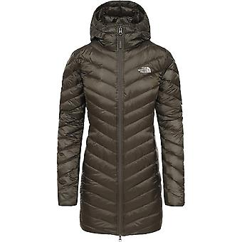 North Face Women's Trevail Parka - New Taupe Green