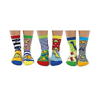 United Oddsocks Boys Dinosaur Socks