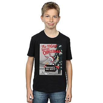 Looney Tunes Boys The Fight Before Christmas T-Shirt