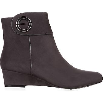Impo Womens Goya Fabric Closed Toe Ankle Fashion Boots