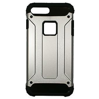 IPhone 8 Plus/7 enemmän musta ja hopea anti-shock tapauksessa