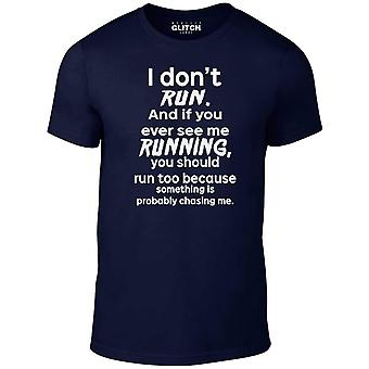 Ik Don ' t run t-shirt