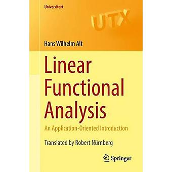 Linear Functional Analysis by Alt