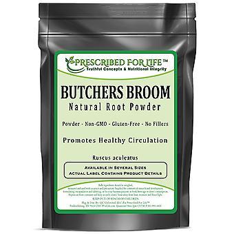 Butchers Broom - Natural Root Powder (Ruscus aculeatus)