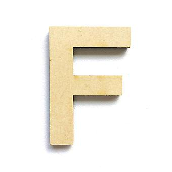 Wooden Large Capital Alphabet Letters - F