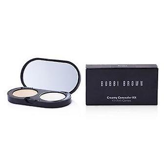 Bobbi Brown New Creamy Concealer Kit - Porcelain Creamy Concealer + White Sheer Finish Pressed Powder - 3.1g/0.11oz