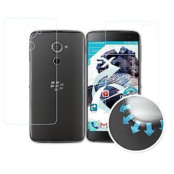 atFoliX 3x Lámina Protectora compatible con Blackberry DTEK60 transparente&flexible