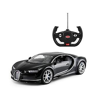 Licensed RC 1:14 Bugatti Chiron Remote Control Car Toy Black