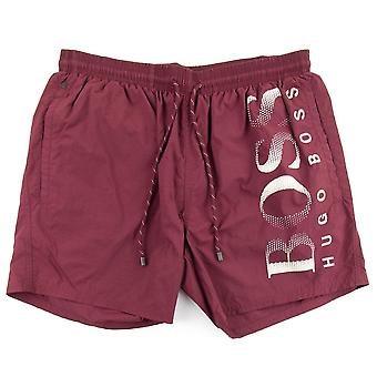 Hugo Boss Octopus Shorts de bain Bourgogne