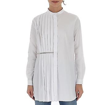 Fabiana Filippi Cad260w829a59921 Women's White Cotton Dress