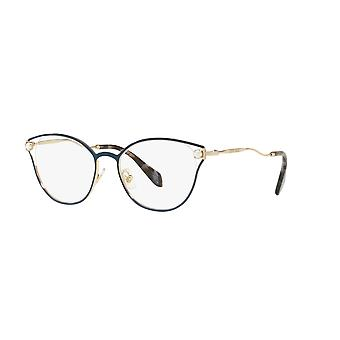 Miu Miu VMU53Q WWK1O1 Blue Glasses