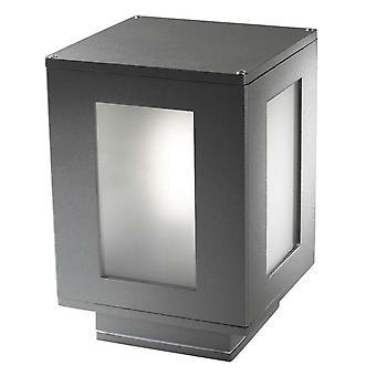 Forlight Alfil - Badrum Utomhus Piedestal Urban Grey 1x E27 IP44 - PX-0033-ANT
