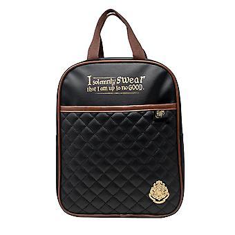 Children's Harry Potter Quilted Black Backpack