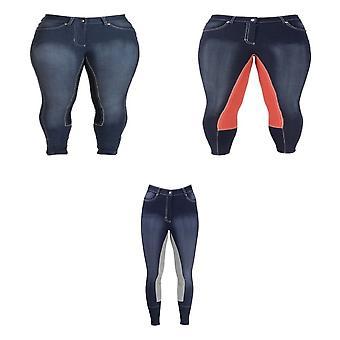 HyPERFORMANCE Womens/Ladies Denim Look Breeches