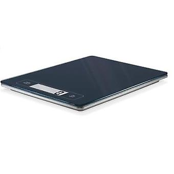 Electronic Kitchen Scales Grey Slim - 15kg Capacity