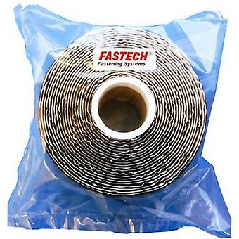 FASTECH® T0502599990305 Hook-and-loop tape stick-on (hot melt adhesive) Micro hooks (L x W) 5000 mm x 25 mm Black 1 pc(s)