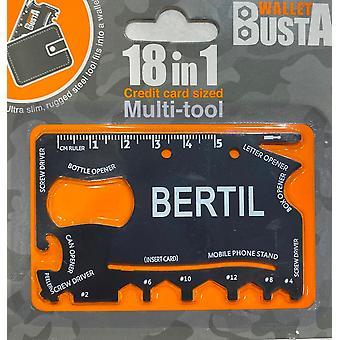 Multitool Multitool BERTIL luottokortti pankkikortti