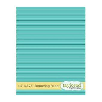 Taylored Expressions Corrugated Embossing Folder (TEEF20)