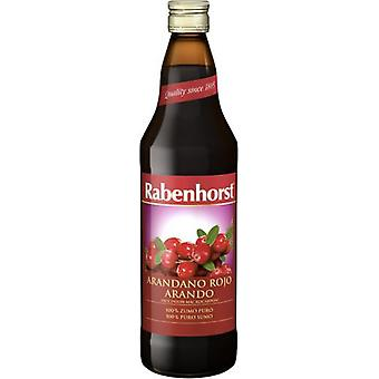 Rabenhorst American Red Cranberry Juice 750 ml