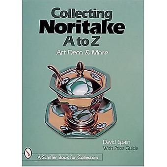 Samle Noritake, A til Z: Art Deco og mer (Schiffer bok for samlere)