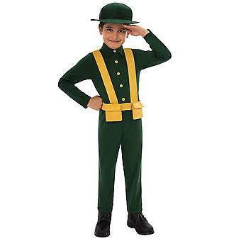 Bristol Novelty Childrens/Kids WWI Soldier Costume