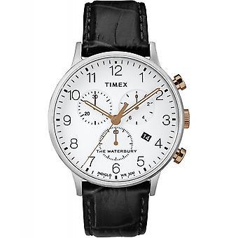 Zegarek na rękę Timex TW2R71700 Waterbury Classic Chronograph