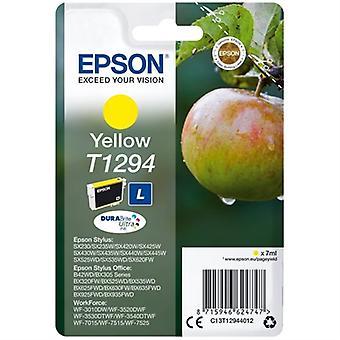 Original bläckpatron Epson T1294 7 ml Gul