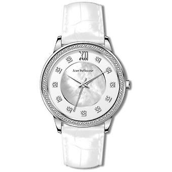 Jean Bellecour REDK1 Watch - Croco White Women's Watch