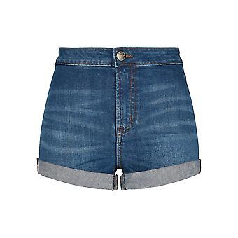 Urban Classics Damen Jeansshorts 5 Pocket Slim Fit