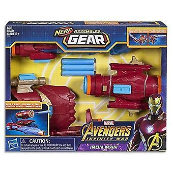 Avengers Marvel Infinity War Nerf Iron Man Assembler Gear