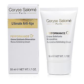 Ultimate anti age renew exfoliating cream 50ml/1.7oz