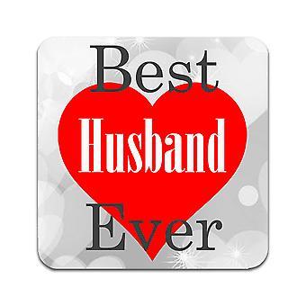 2 ST Best Husband Ever Coasters