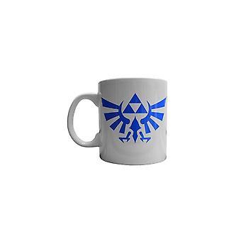 Legend Of Zelda Hyrule Kaart Extra Grote Witte Koffie Mok