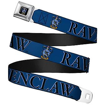Harry Potter Ravenclaw Crest Webbing Seatbelt Buckle Belt
