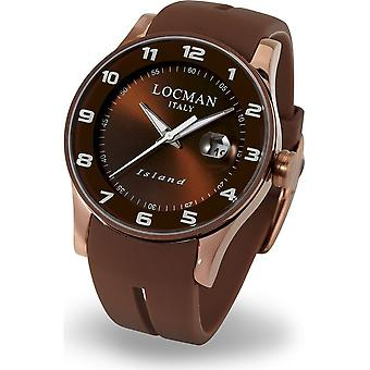LOCMAN - Wristwatch - Men - 0600BNNW-BNW2SIN - ISLAND ONLY TIME QUARTZ