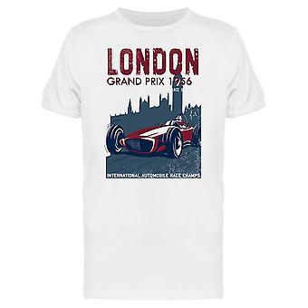 London Grand Prix T-Shirt Herren-Bild von Shutterstock