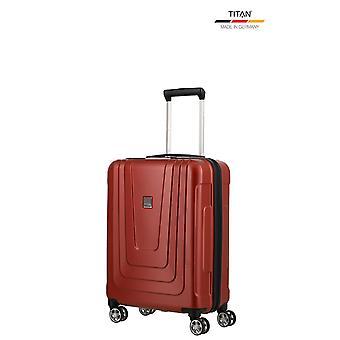 TITAN X-Ray Käsimatkatavarat Vaunu S, 4 pyörää, 55 cm, 40 L, punainen