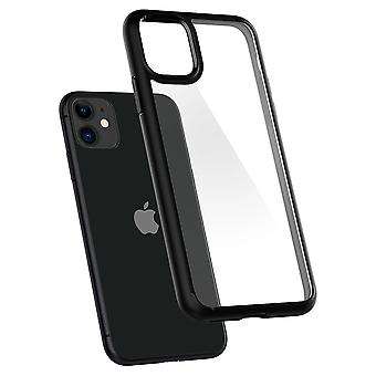 Hull For iPhone 11 Ultra Hybrid Black Mat