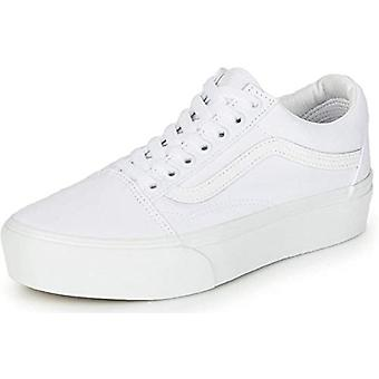Vans Women's Low-Top Trainers, True White, 11 Women/9.5 Men