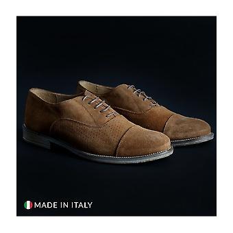 SB 3012 - Shoes - Lace-up shoes - 1003-CAMOSCIO-B-TABACCO - Men - peru - EU 42