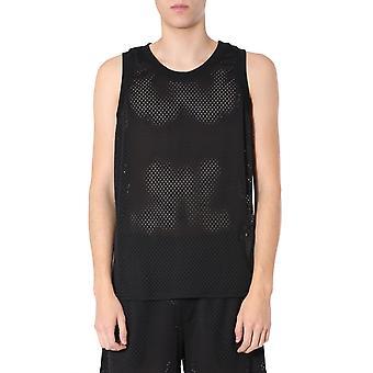 Rick Owens Cm20s000621508609 Men's Black Polyester T-shirt