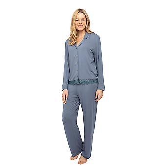 Cyberjammies Nora Rose Emelia 1430 Naiset&apot;s Tummanharmaa Neulo pyjama set