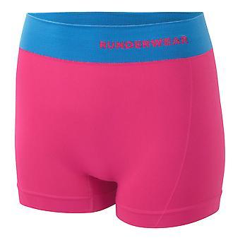 Runderwear Dames Dames Running Hot Pant Ondergoed Roze / Blauw