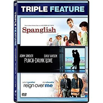 Punch-Drunk Love / Reign Over Me / import USA Spanglish [DVD]