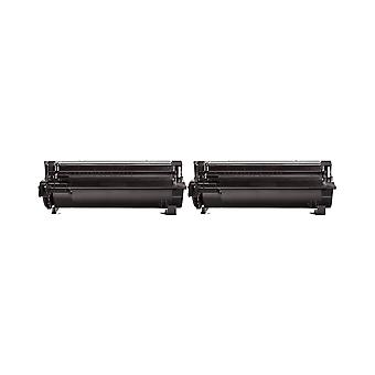 RudyTwos 2x Replacement for Lexmark 602H Toner Unit Black Compatible with MX310, MX410, MX510, MX511, MX610, MX611, MX310dn, MX310dnw, MX410de, MX510de,MX511de, MX511dhe, MX511dte, MX610dw, MX611de, M