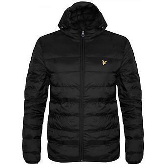 Lyle & Scott Black Lightweight Puffer Jacket