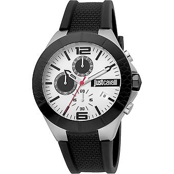 Just Cavalli Sport Watch JC1G081P0045 - Silicon Gents Quartz Chronograph