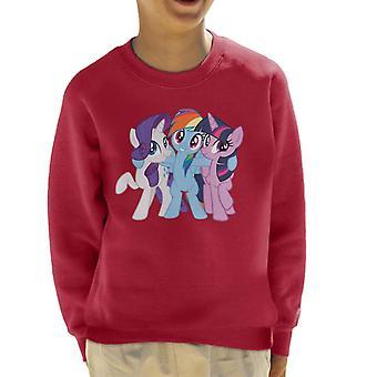Il mio piccolo pony squadra Hug Kid's sweatshirt