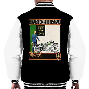 BSA Ready For The Road Men's Varsity Jacket
